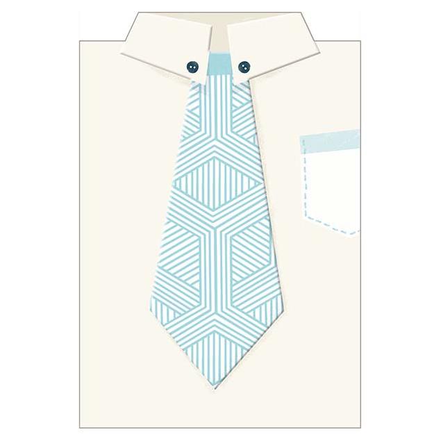 """""""La Chemise de Papa"""" (Dad's Shirt) card"""
