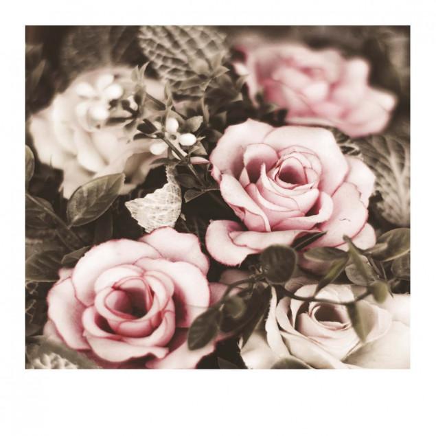 Carte Pola bouquet de roses