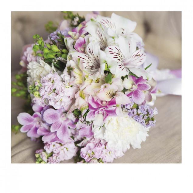 Carte Pola bouquet de fleurs