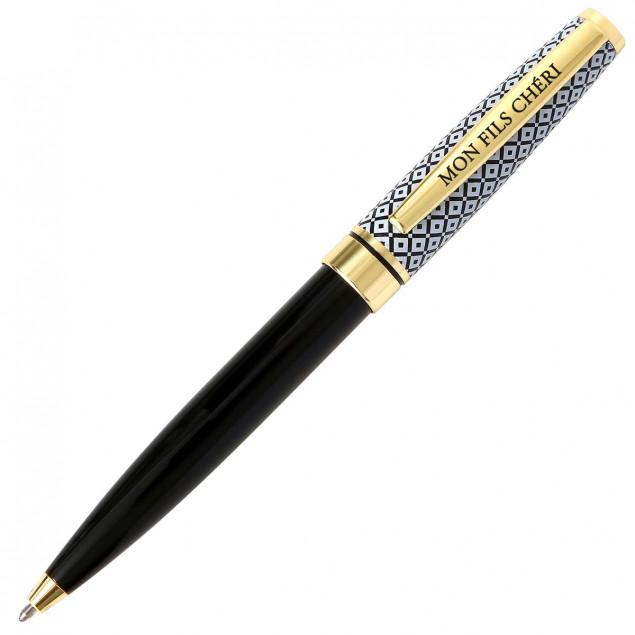 """Retractable ballpoint pen """"mon fils chéri"""" (my"