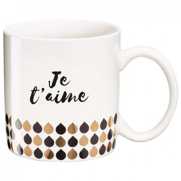 Mug cadeau Je t'aime