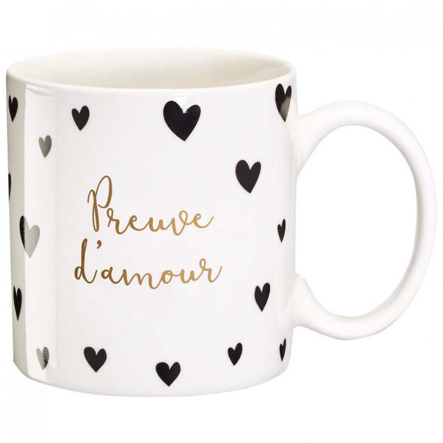 Mug cadeau Preuve d'amour
