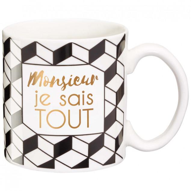 Gift mug Mr Know-It-All